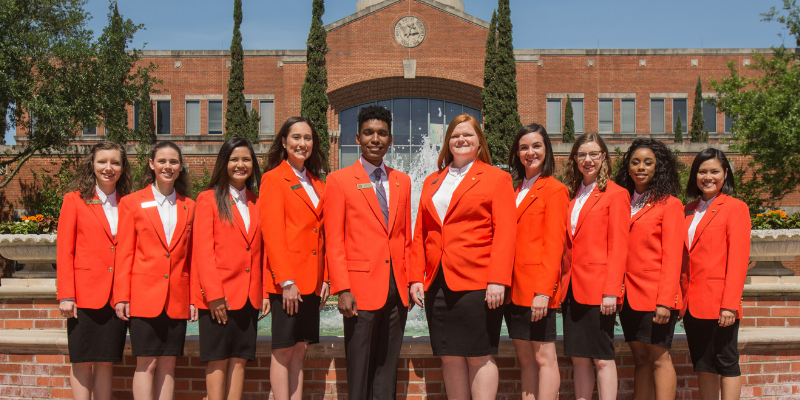 Student Foundation Revives Signature Orange Blazers | News and Even