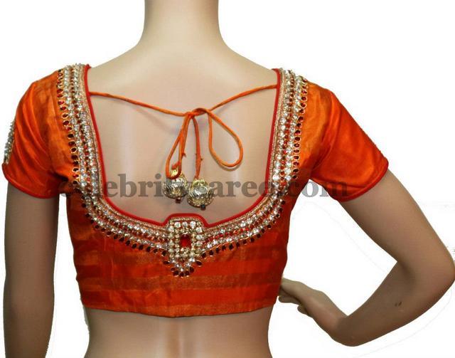 Simple Latest Blouse Designs - Saree Blouse Patter