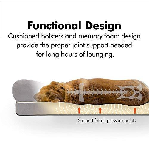 Friends Forever Orthopedic Dog Bed Lounge Sofa Removable Cover 100 .