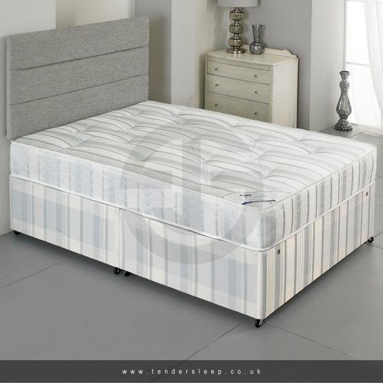 Divan Bed Set - Headboard + Base + Full-Orthopedic Mattress .