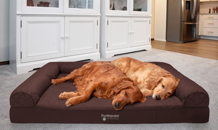 Up To 68% Off on Sofa-Style Orthopedic Pet Bed | Groupon Goo