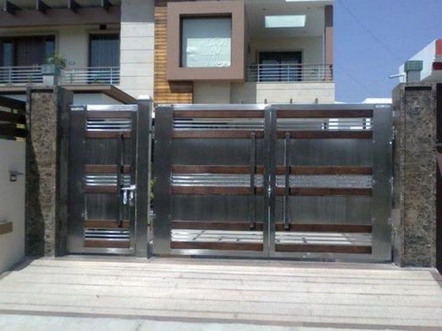 55+ Lovely Modern Home Gates Design Ideas | Beautiful modern homes .