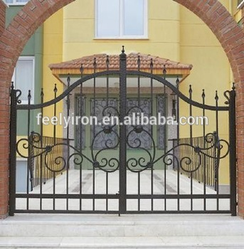 Outdoor Iron Gate Designs Simp