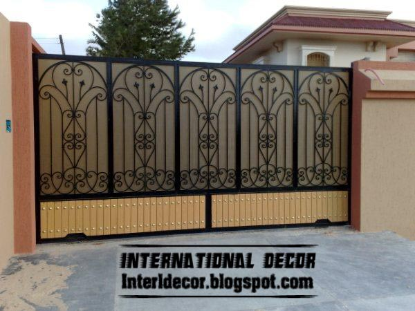 Davotanko Home Interior: Modern sliding iron gate designs UK .