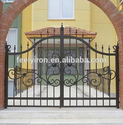 Outdoor Iron Gate Designs Simp