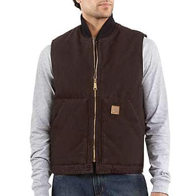 Men's Work Vests   Winter & Fall Outdoor Vests for Men   Carhar