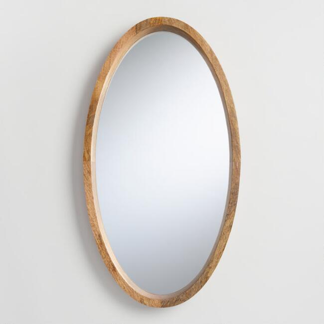 Oval Evan Mirror | World Mark