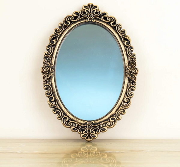 10 Simple & Modern Oval Mirror Designs With Pictures | Styles At Li