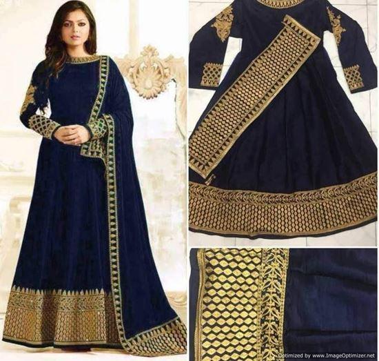 Indian Ethnic Designer Party Suit-Pakistani Salwar Anarka