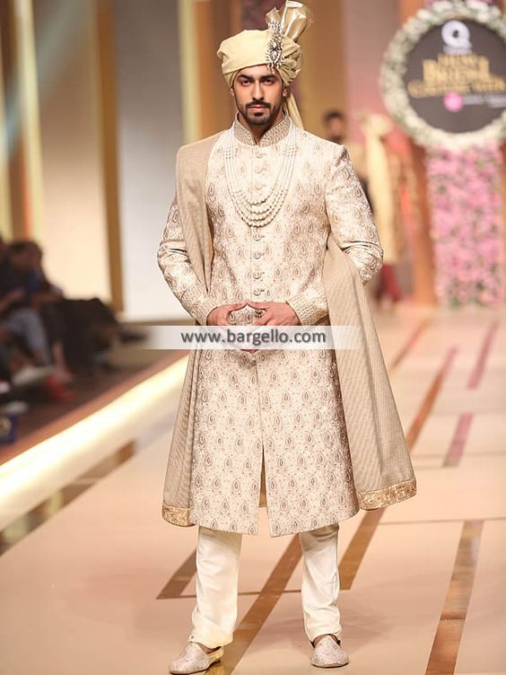 Latest Sherwani Trends This Year for Grooms - Fashion Foo