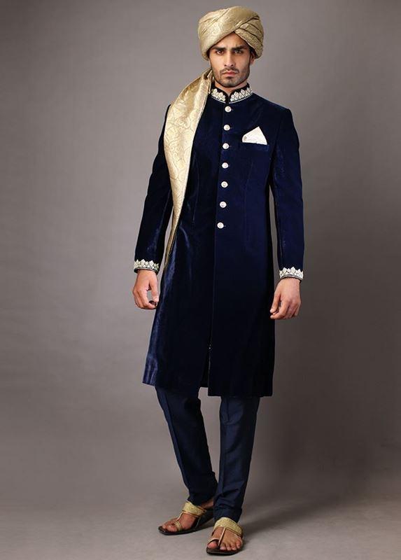 Latest Mens Wedding Sherwani Trends 2020 by Top Pakistani Designe