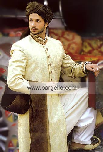 Pakistani Men's Shalwar Kameez Designer Salwar Sherwani Pakist