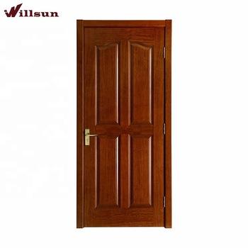 Classic 4 Panel Prehung Used Solid Wood Interior Bedroom Door .