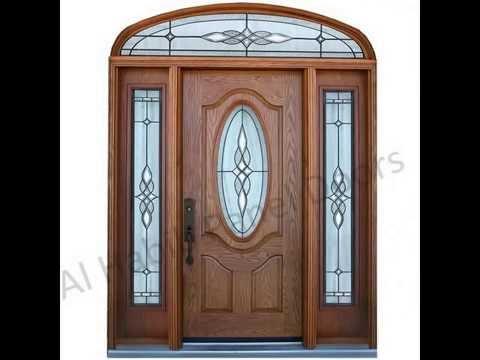 Chinese Ash Skin Veneer Door Design - Al Habib Panel Doors - YouTu