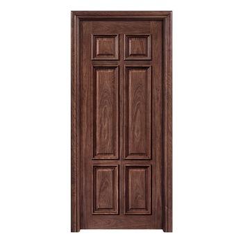 Modern Bedroom Panel Door Design Single Leaf Wooden Door - Buy .