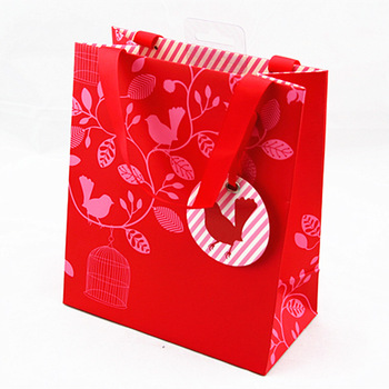 custom cool and creative paper bag design /paper gift bag/perfume .