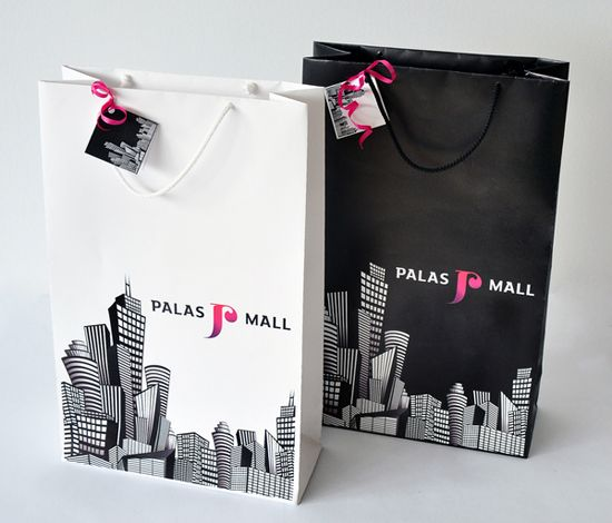 32 Beautiful Designs of Paper Bags With Brand Identity | Paper bag .