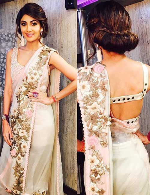 50 Latest Saree Blouse Designs For 2019 That Will Amaze You .