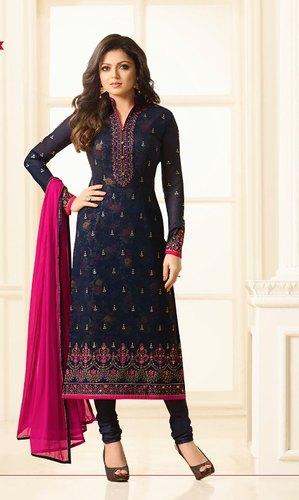 Georgette Nazneen Designer Party Wear Salwar Suit, Rs 3069 /piece .