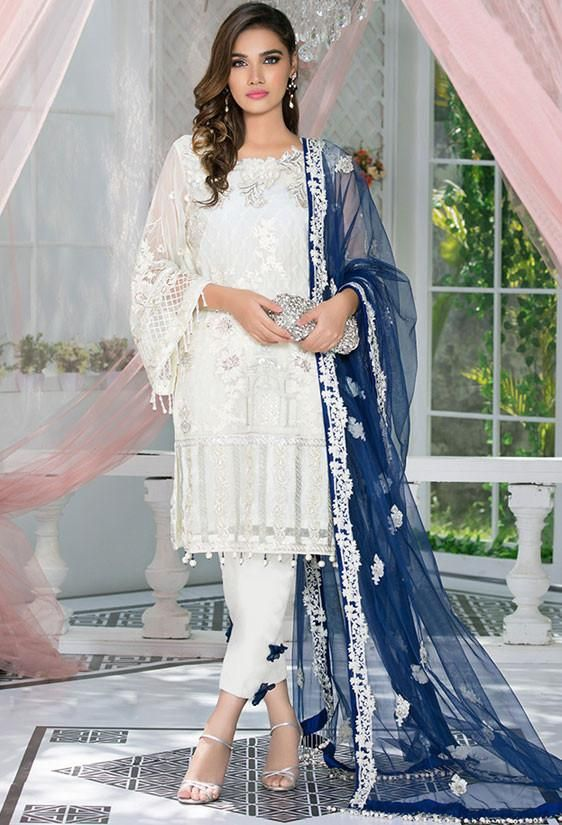 Pearl Georgette Party Wear Salwar Suit SFB806 (With images .