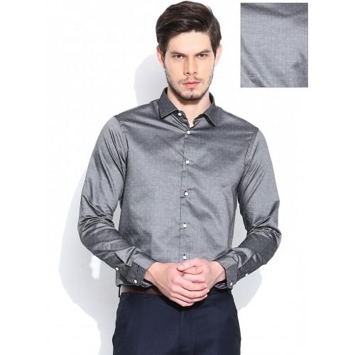 Buy Arrow New York Grey Slim Party Wear Shirt online | Looksgud.