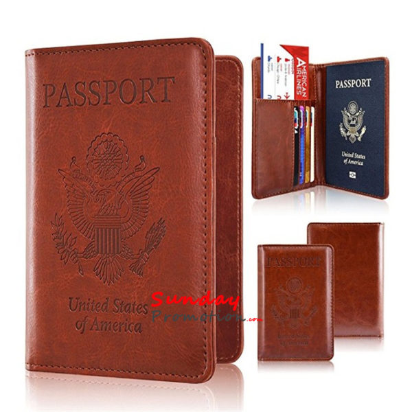 Real Leather RFID Passport Wallets Australia Wholesale Mens Walle