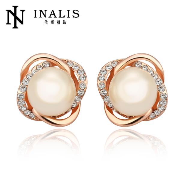 E871 Earrings For Women New stud earing fashion jewelry cross .