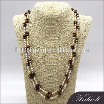 Customized Unique Long Modern Pearl Necklace Designs - Buy Modern .