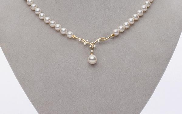 Custom Design Pearl Necklace By Pure Pear