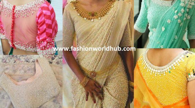 Pearl sarees | Fashionworldh