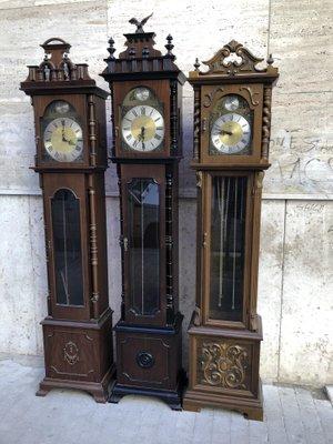 Pendulum Clocks from Tempus Fugit, 1950s, Set of 3 for sale at Pamo
