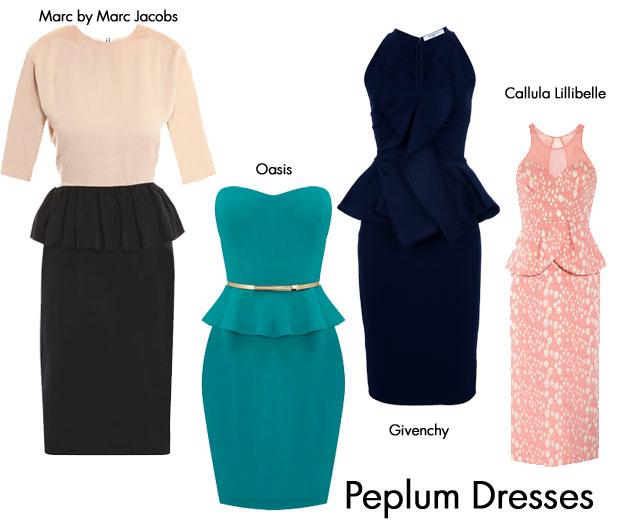 Red Carpet Trends: Peplum Dresses - Red Carpet Fashion Awar