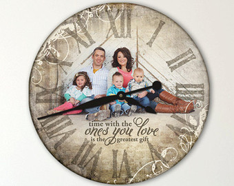 15 Best Personalized Clock Designs - That Keep Your Memories Ali