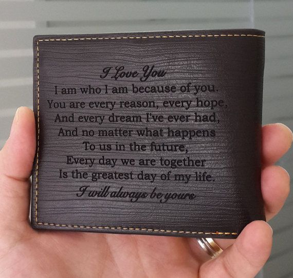 personalized men wallet leather wallet mens wallet by SFdizayn .