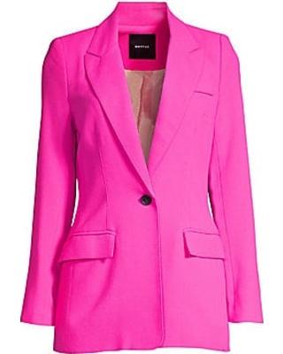 Spectacular Savings on Smythe Women's Tailored Wool Blazer - Neon .