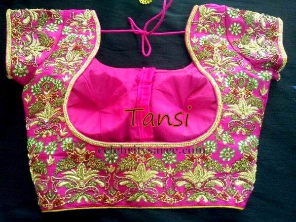Pink Blouse Designs