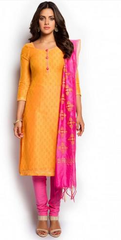 Soch Yellow And Pink Salwar Suit at Rs 3498/piece | Salwar Suit .