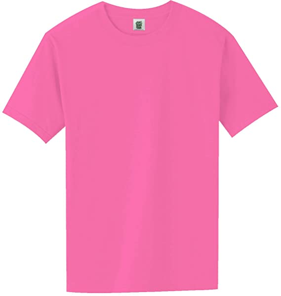 Short Sleeve Bright Neon T-Shirt in 6 Bright Colors | Amazon.c