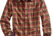 Orton Brothers Lightweight Tartan Plaid Shirt for M
