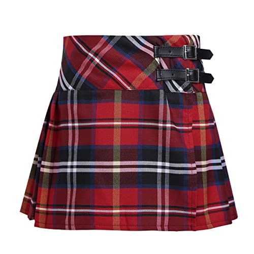Kids Plaid Skirt: Amazon.c