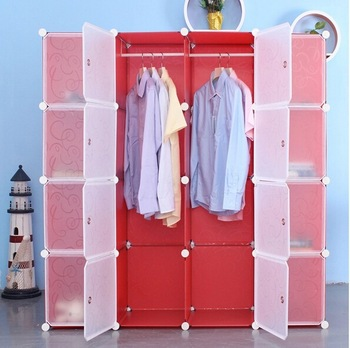 DIY plastic 16 cubes wardrobe cabinet modern wardrobe designs for .