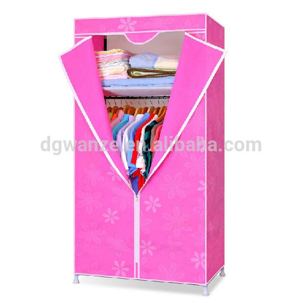 Portable Folding Plastic Wardrobe A-209,Fabric Closet,Foldable .