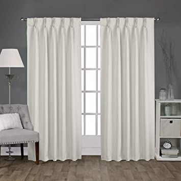 Amazon.com: Magic Drapes Double Pinch Pleated Curtains & Panels .