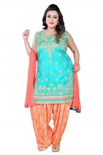 15 Fashionable Plus Size Salwar Suits - Try These Now | Styles At Li