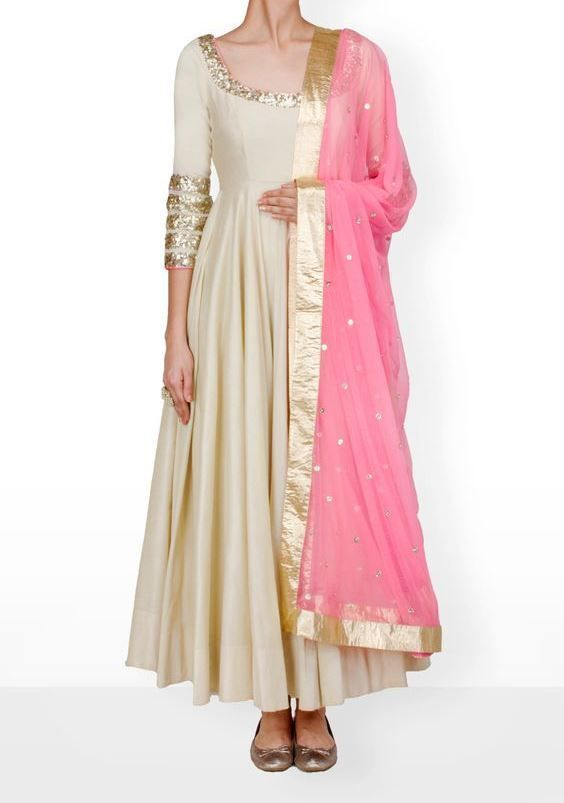 India Gherdaar Plus Size Dress Bridal Party Anarkali Suit Designer .