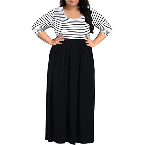 Women's Plus Size Maxi Skirt: Amazon.c