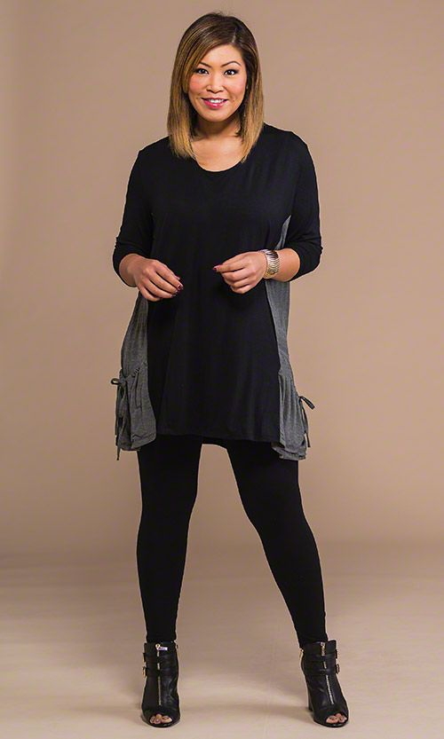 plus size tunics to wear with leggings 05226825 | The Cute Styl