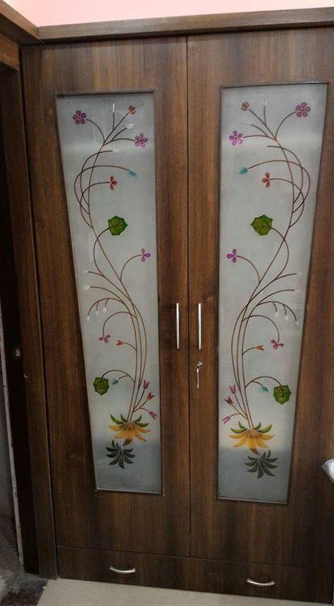 Pooja room door design cnc 27+ Ideas (With images) | Door glass .