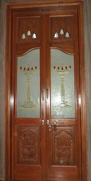 glass door designs for pooja room - Google Search | Pooja room .