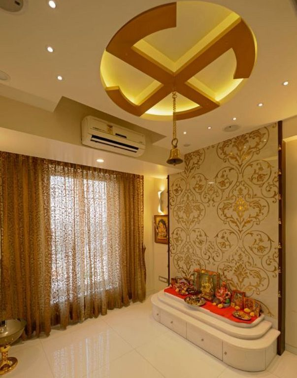 20+ Interior Design Ideas for Pooja Room Wall Units in Your Home .